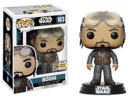 Star Wars Rogue One Funko Pop! Vinylfigur Bodhi 183 SDCC Exclusive
