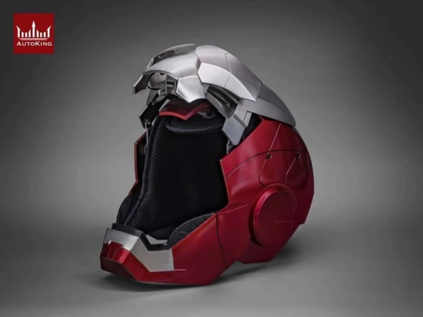 AutoKing 1/1 Movie Prop Replik Helm Iron Man MK5