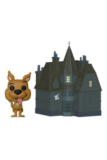 Scooby-Doo Funko Pop! Town Vinylfigur Haunted Mansion & Scooby