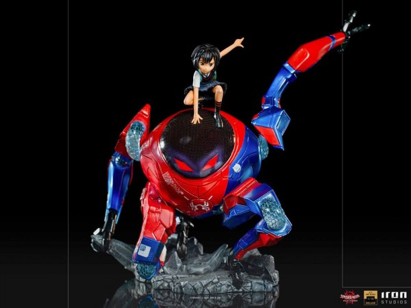 Spider-Man: A New Universe BDS Art Scale Statue 1/10 Peni Parker & SP (Deluxe)