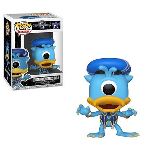 Kingdom Hearts 3 Funko Pop! Vinylfigur Donald (Monster Inc.) 410