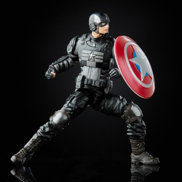 Avengers Gamerverse Marvel Legends Actionfigur Captain America (Stealth)