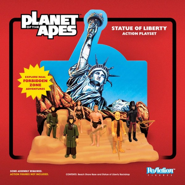 Planet of the Apes ReAction Spielset Statue of Liberty (SDCC 2018)