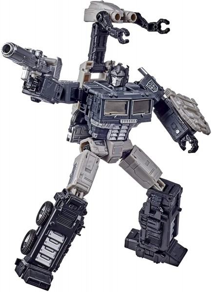 Transformers Generations War For Cybertron EARTHRISE Leader Alternate Universe Optimus Prime (Exclus