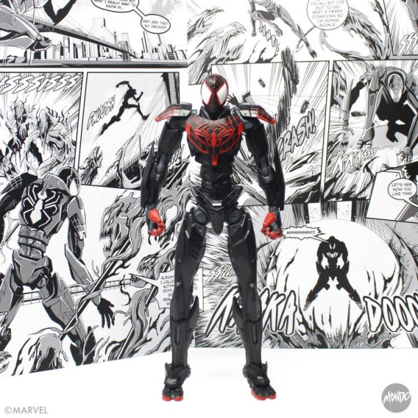 Mecha Marvel Actionfigur Spider-Man Miles Morales (SDCC 2021)