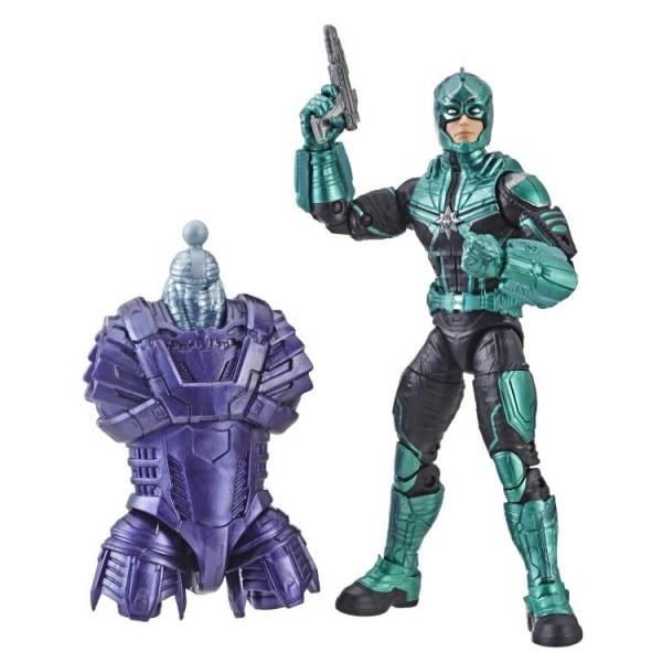 Captain Marvel Marvel Legends Actionfigur Starforce Commander