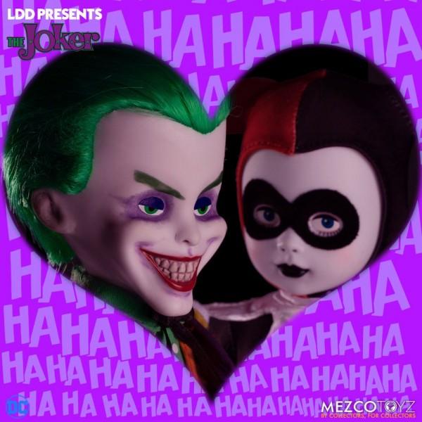 DC Universe Living Dead Dolls Puppe Joker