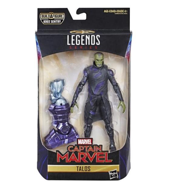 Captain Marvel Marvel Legends Actionfigur Talos Skrull