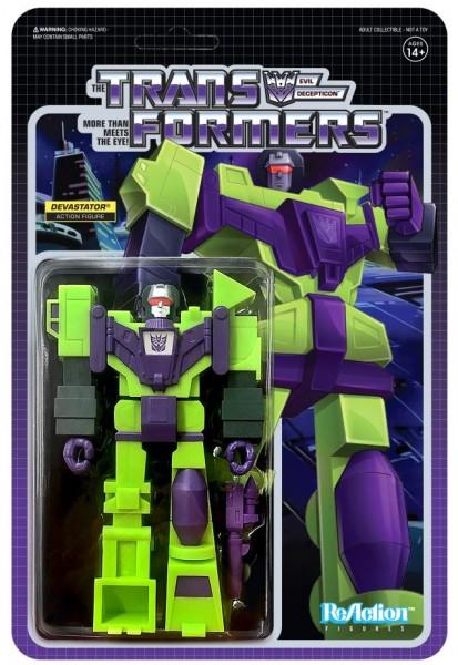 Transformers ReAction Actionfigur Devastator