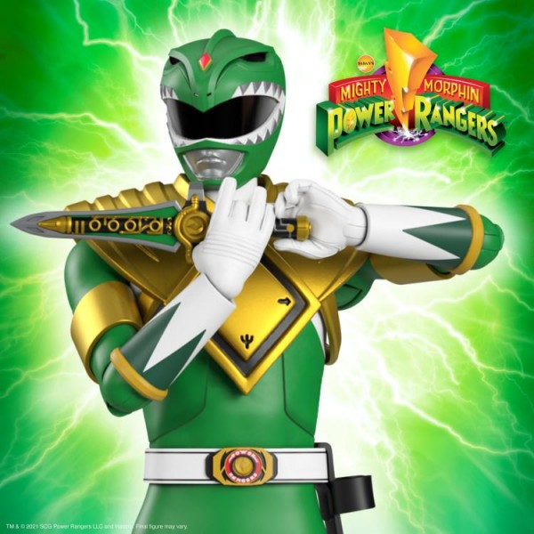 Power Rangers Ultimates Actionfigur Mighty Morphin Green Ranger