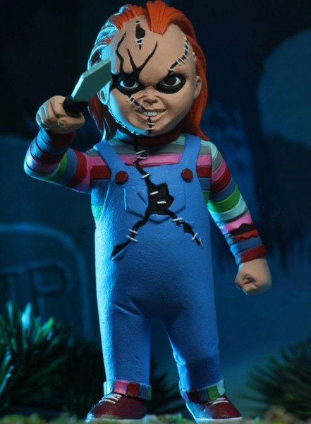 Chucky und seine Braut Toony Terrors Actionfiguren Chucky & Tiffany (2-Pack)
