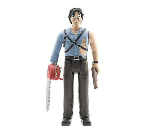 Army of Darkness ReAction Actionfigur Ash (with Chainsaw Hand)