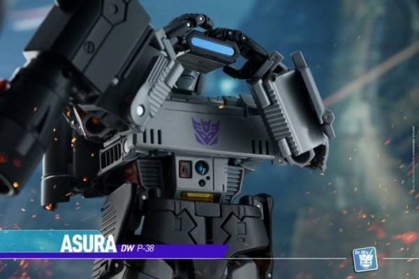 Dr. Wu DW-P38S Asura - MP-36 Add-On Kit (Blue Silver)