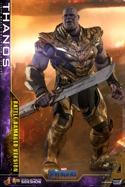 Avengers Endgame Movie Masterpiece Actionfigur 1/6 Thanos (Battle Damaged Version)