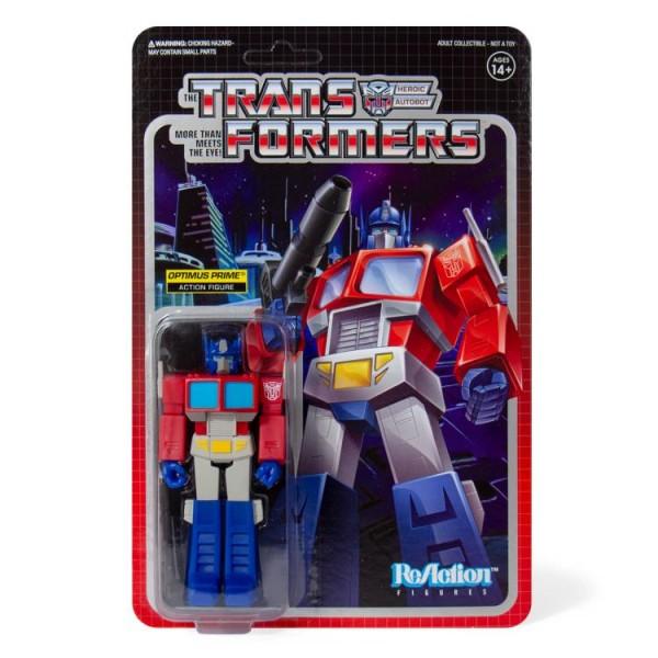 Transformers ReAction Actionfigur Optimus Prime