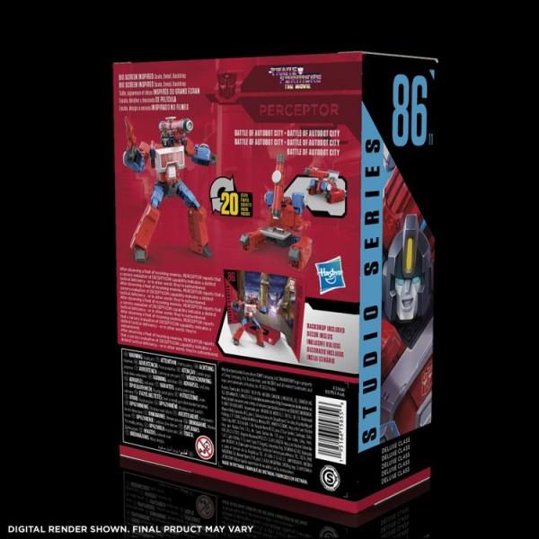 Transformers Studio Series Deluxe Perceptor