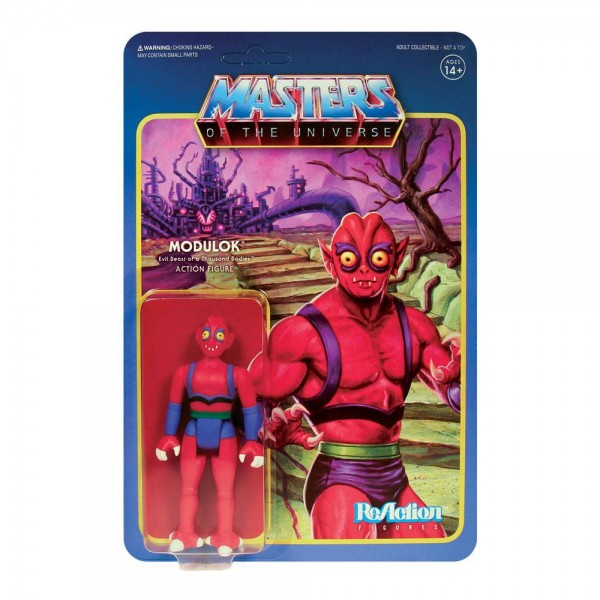 Masters of the Universe ReAction Actionfigur Modulok (Variant B)