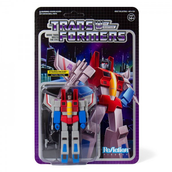 Transformers ReAction Actionfigur Starscream