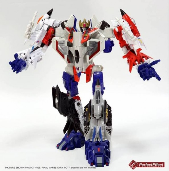 Perfect Effect PC-22 Perfect Combiner - Power of the Primes Starscream Upgrade Set