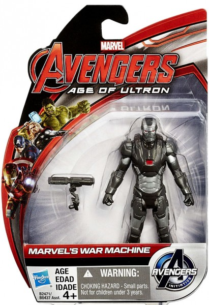 Avengers: Age of Ultron All Star Actionfigur War Machine