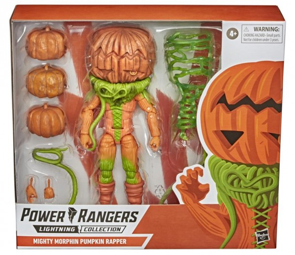 Power Rangers Lightning Collection Actionfigur 15 cm Mighty Morphin Pumpkin Rapper (Deluxe)