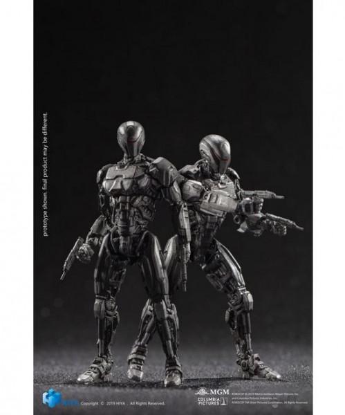 Robocop 2014 Actionfiguren 1/18 OmniCorp EM-208 Enforcement Droids (2-Pack)