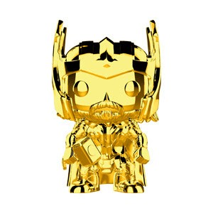 Marvel Studio's 10th Anniversary Funko Pop! Vinylfigur Thor (Gold Chrome) 381