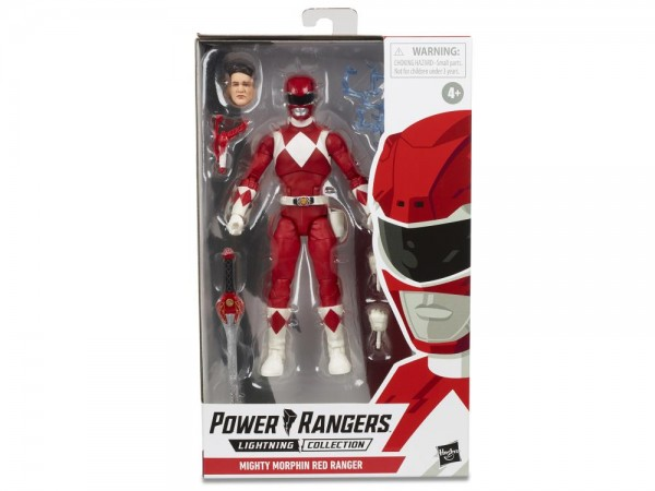 Power Rangers Lightning Collection Actionfigur 15 cm Mighty Morphin Red Ranger