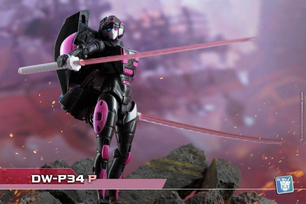 Dr. Wu DW-P34P Double Pole Swords (Pink)