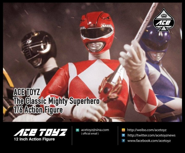 ACE TOYZ Classic Mighty Superhero 1/6 Actionfiguren Box-Set (5)