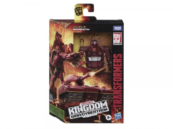 Transformers Generations War For Cybertron KINGDOM Deluxe Warpath