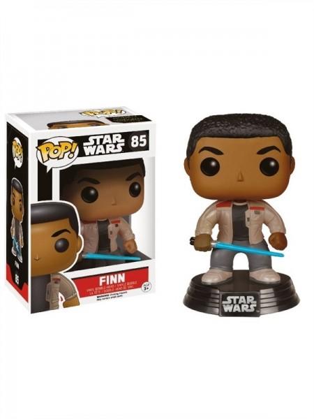 Star Wars Force Awakens Funko Pop! Vinylfigur Finn (Lightsaber) 85 Exclusive