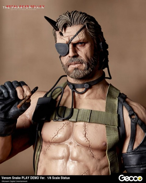 Metal Gear Solid V Statue 1/6 Venom Snake (Play Demo Version)