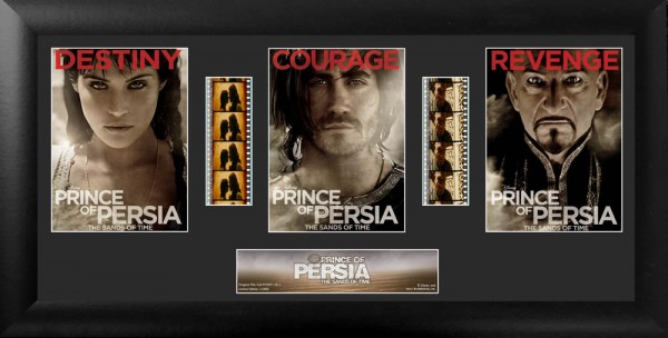 Film Cell The Prince of Persia Trio