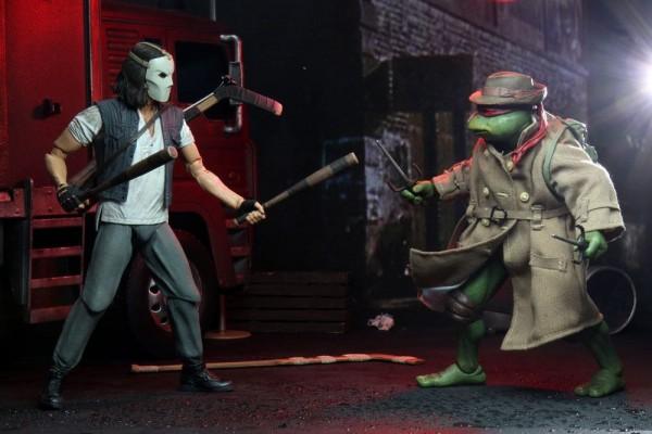 Teenage Mutant Ninja Turtles 1990 Movie Actionfiguren Casey Jones & Raphael in Disguise (2-Pack)