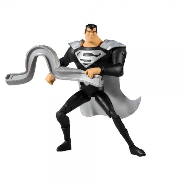 DC Multiverse Actionfigur Superman Black Suit Variant (Superman: The Animated Series)