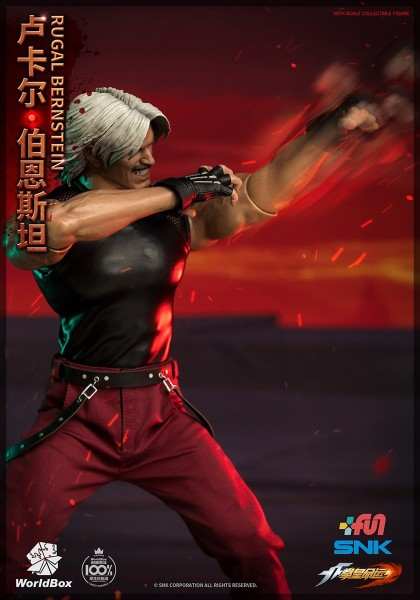 World Box King of Fighters 1/6 Actionfigur Rugal (Deluxe Version)