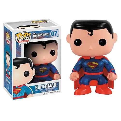 DC Funko Pop! Vinylfigur Superman (New 52) 07 Exclusive