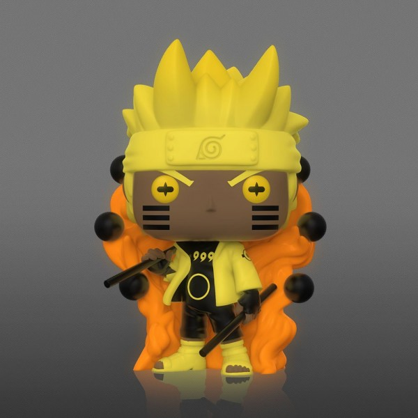 Naruto Funko Pop! Vinylfigur Naruto (Six Path Sage) Glow-In-The-Dark (Specialty Series)