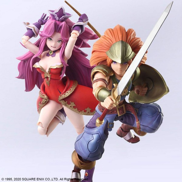 Trials of Mana Bring Arts Actionfiguren Duran & Angela (2-Pack)