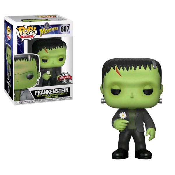 Universal Monsters Funko Pop! Vinylfigur Frankenstein (with Flower) 607 Exclusive