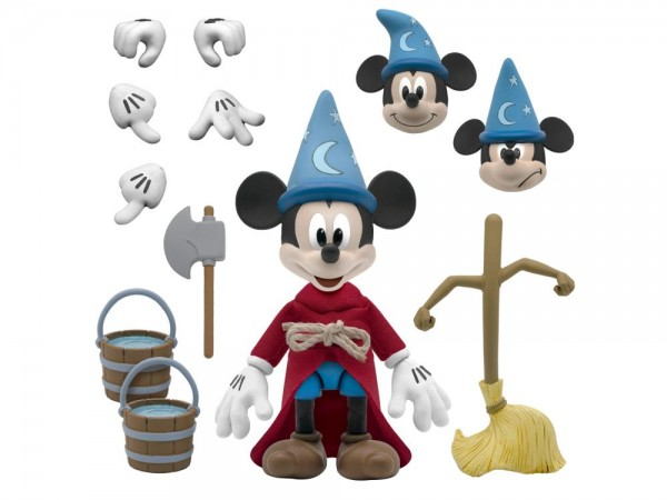 Disney Ultimates Actionfigur The Sorcerer's Apprentice Mickey Mouse (Fantasia)