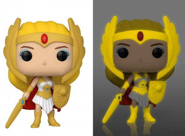 Masters of the Universe Funko Pop! Vinylfigur She-Ra (Glow-In-the-Dark) Specialty Series