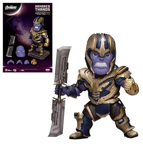 Avengers Endgame 'Egg Attack Action' Figur Armored Thanos