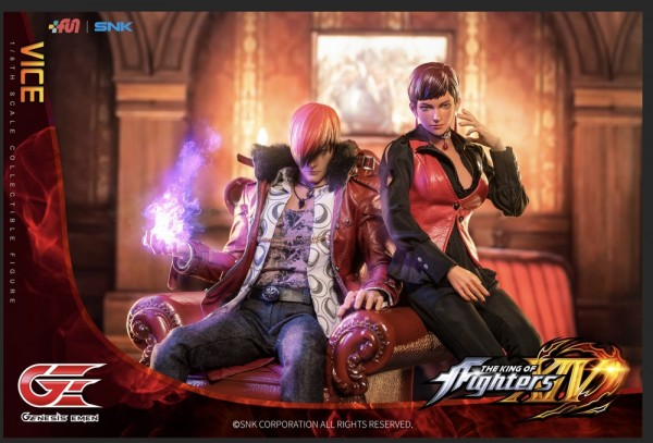 Genesis King of Fighters XIV 1/6 Actionfigur Vice