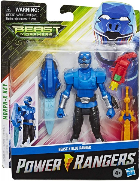 Power Rangers Beast Morphers Basic Actionfigur 15 cm Blue Ranger (Beast X Mode)