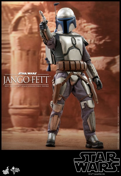 Star Wars Movie Masterpiece Actionfigur 1/6 Jango Fett (Ep II)