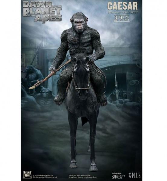 Planet der Affen: Revolution Soft Vinyl Statue Caesar with Spear