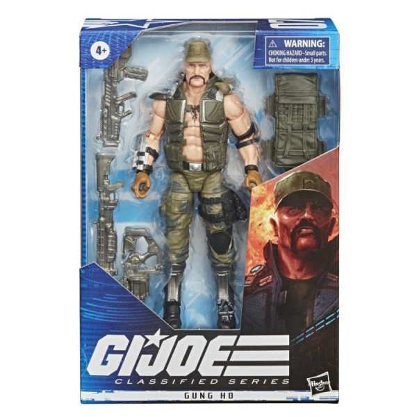 G.I. Joe Classified Series Actionfigur 15 cm Gung Ho