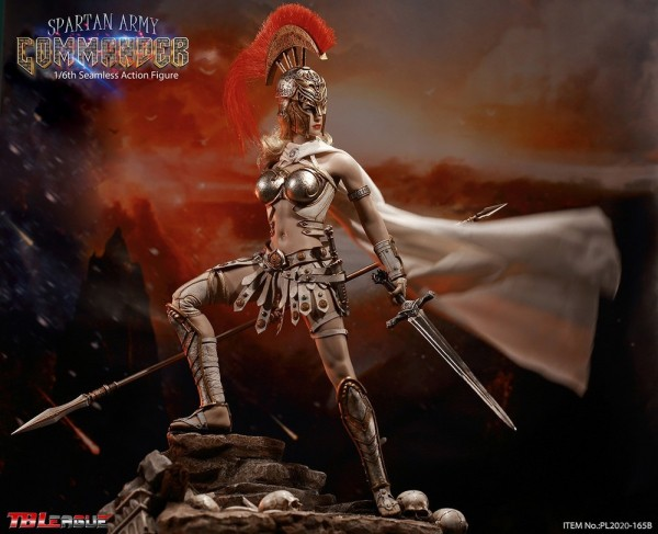 Phicen / TBLeague 1/6 Actionfigur Spartan Army Commander (Silver)